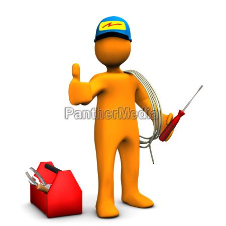 elektriker, ok - 8179276