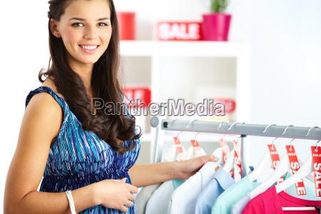 woman on sale