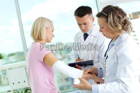 die behandlung von patienten