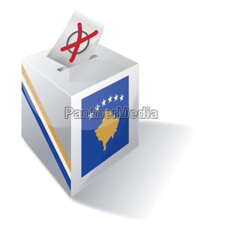 wahlbox kosovo