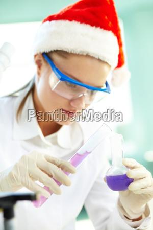 weihnachts chemiker