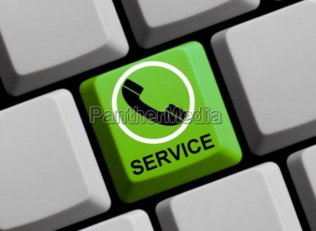 telefonservice online