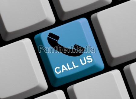 call us jetzt anrufen