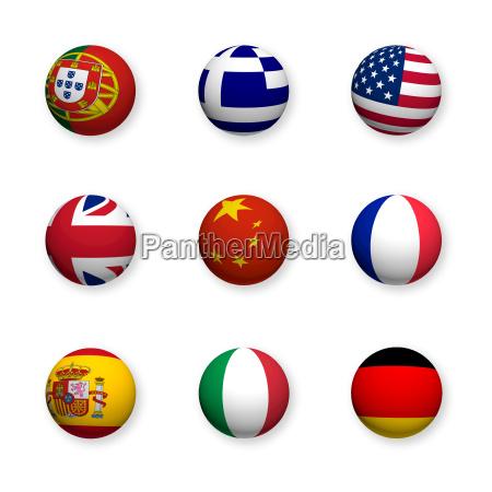 fremdsprachen symbole