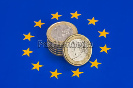 azul europa moneda bandera ue crisis