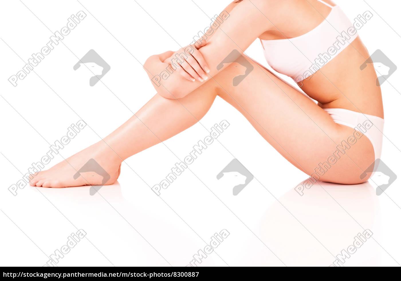 weiblicher, körper, in, unterwäsche - 8300887