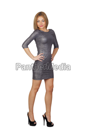attractive woman in a tight dress