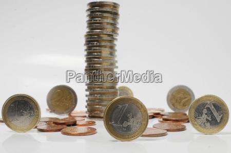 tabel money coin coins euro coins