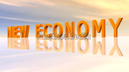 the words new economy