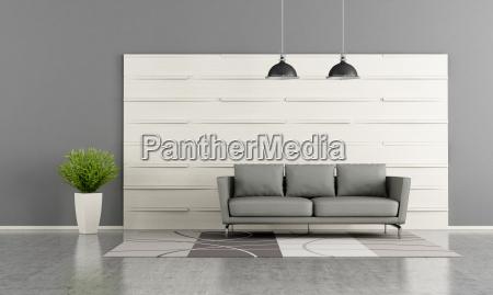 moderne wohnzimmer mit weissen holzplatte