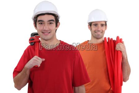 two plumbers