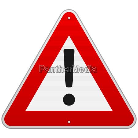 segnale rilasciato traffico cautela appartato saggio