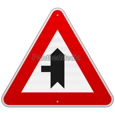 left crossroad sign