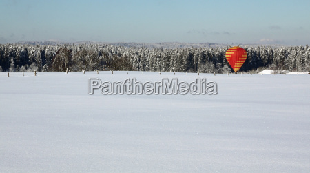 horizon winter winter landscape blanket of