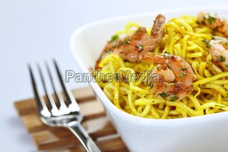 garnelen curry nudeln