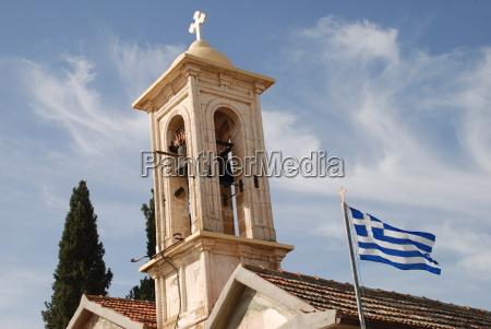griechisch, orthodoxe, kirche, zypern, griechenland, - 8373601