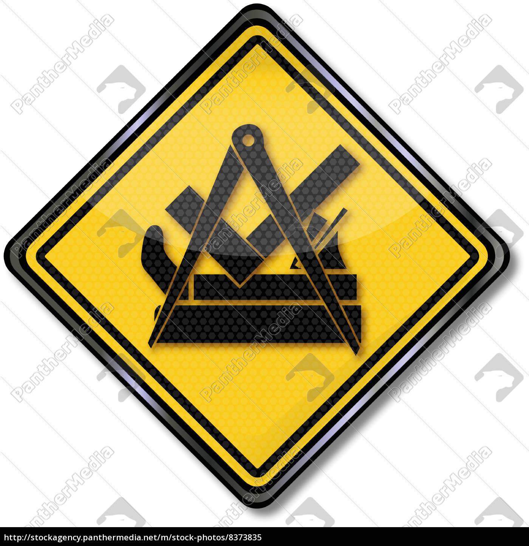 Tischler Zeichen zunftzeichen tischler und schreiner lizenzfreies bild 8373835