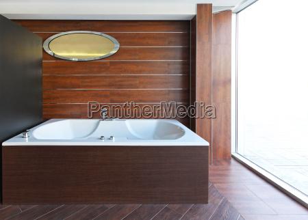 innenraum parkett badewanne wanne hoelzern zuber