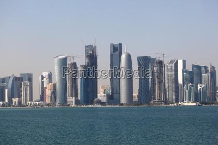 stadt grossstadt skyline innenstadt arabien stadtzentrum
