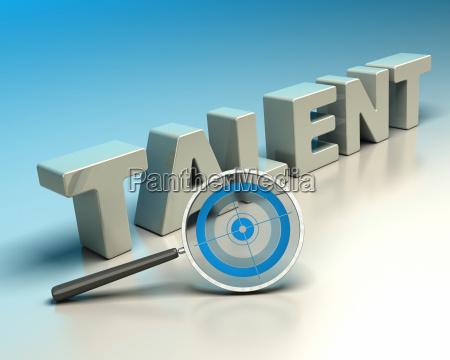 headhunter concept talent hunter
