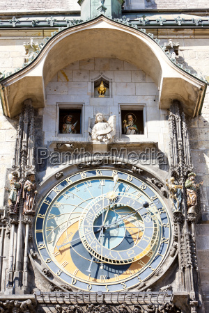 horloge am altstaedter ring prag tschechische