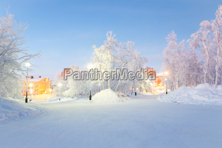 winterlandschaft stadtgarten