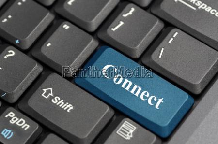 schliessen sie auf der tastatur