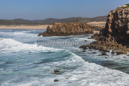 praia da bordeira carrapateira algarve portugal