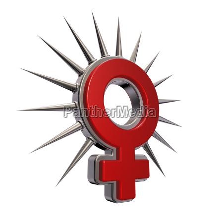 symbol fuer weiblich