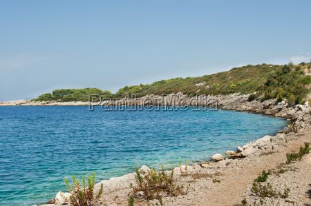 scenic rocky beach
