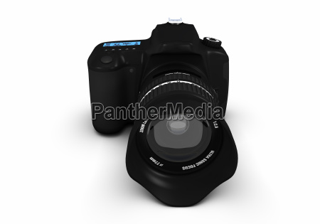 digitale spiegelreflexkamera 360 ansichten bild