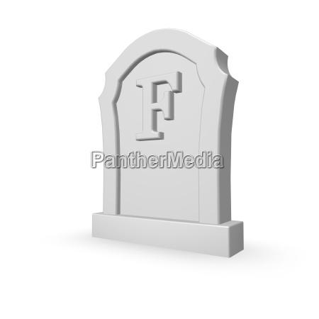f is dead