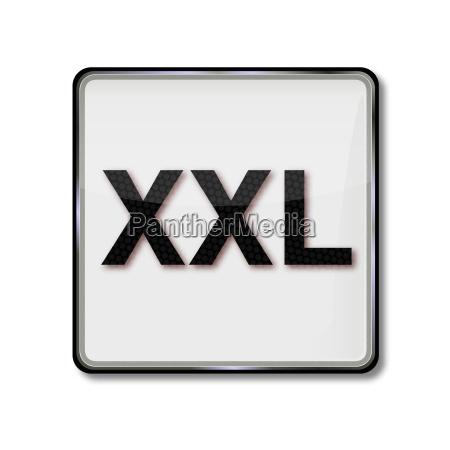 textilpflegesymbol groessenangabe xxl