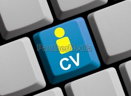 cv lebenslauf online