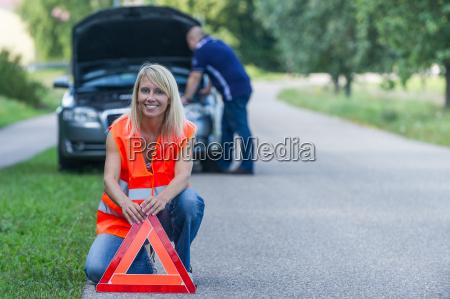 breakdown by car