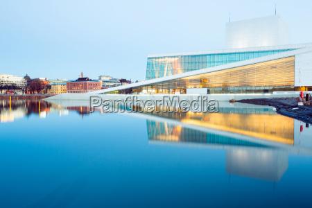 osloer opernhaus norwegen
