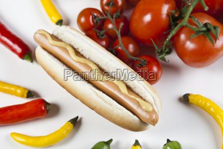 amerikanische hot dog