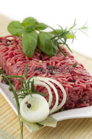 frisches hackfleisch