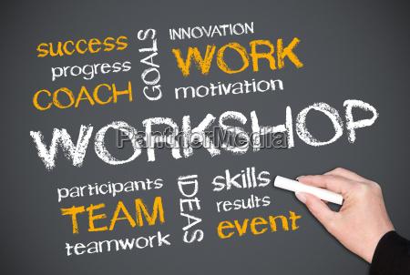 workshop business concept