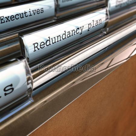 redundancy plan restructuring a company