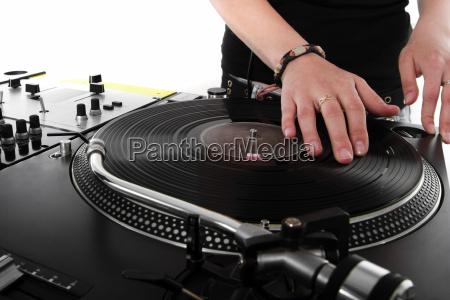 unterhaltung entertainment musik dj plattenteller vinyl