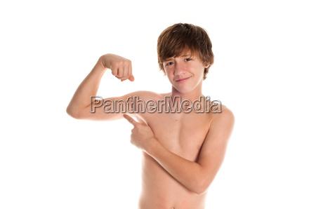 muscle teen punkte bei bizeps