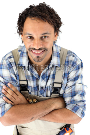 portraet eines zimmermanns