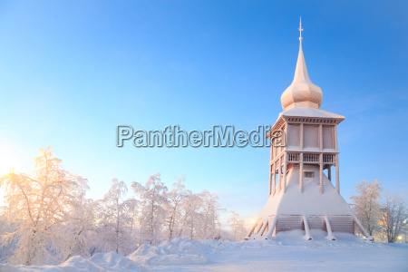 kiruna cathedral church monument sweden