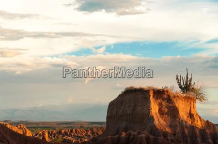 small desert mesa