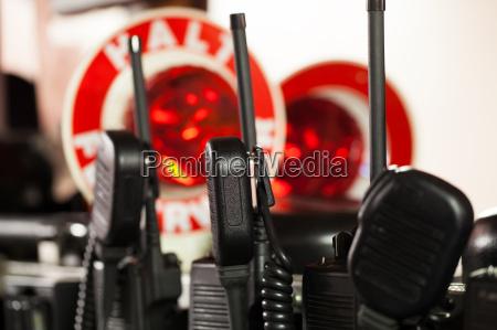 firemen radios for use
