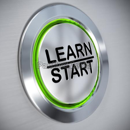 online training e learning konzept