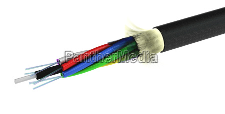 stripped lwl kabel