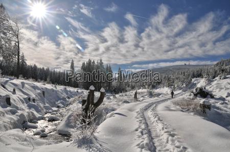 zima wycieczka do kawalka