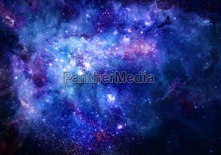 space weltraum nachthimmel illustration milchstrasse galaxie